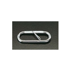 [Stainless Steel] Carabiner with Safety Lock EA638JK-2