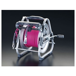 Urethane Air Hose Reel with Coupler EA124BA-1