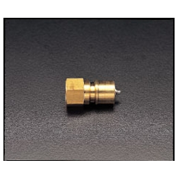 Brass Female Threaded Plug with Stop EA140AA-2