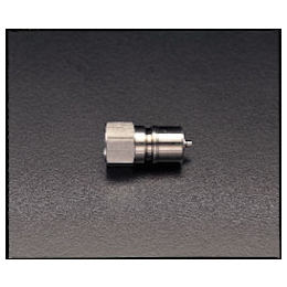 Stainless Steel Female Threaded Plug with Stop EA140AB-3
