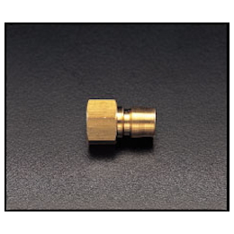 Brass Female Threaded Plug for Medium Pressure EA140AC-6