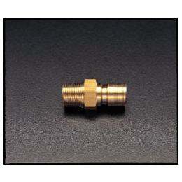 Brass Male Threaded Plug for Medium Pressure EA140AD-2