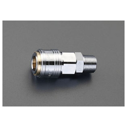 One-Push Male Threaded Socket [with Lock Mechanism] (Type 20) EA140DP-3R