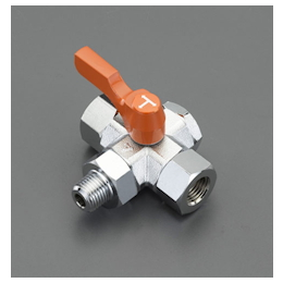 Three-Way Tetrahedral Mini Ball Valve EA425BZ-102