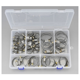 [Stainless Steel]Universal Type Hose Clamp Set EA463CA