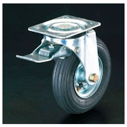 Swivel Caster (Pneumatic Tire/with Brake) EA986HH-1