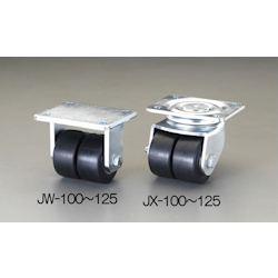 Twin-wheel Caster EA986JW-100