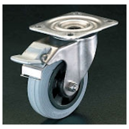 Swivel Caster (with Brake/Stainless Steel) EA986LB-2