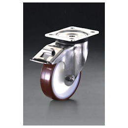 Swivel Caster (with Brake/Stainless Steel) EA986LH-0