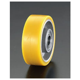 Polyurethane-tire Aluminum Wheel EA986MP-125