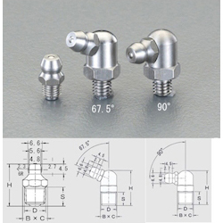 [Stainless Steel] Grease Nipple EA991CZ-322