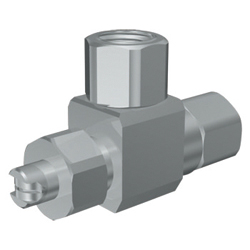 Mini Mist Nozzle, Internal Mixing Type.