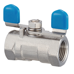 Stainless Steel 3.92 MPa Butterfly Handle Type, Reduced Bore Type, Ball Valve