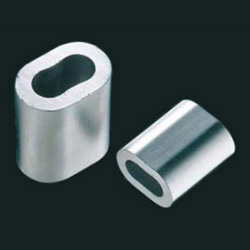 Aluminum clamp tube (W tube)