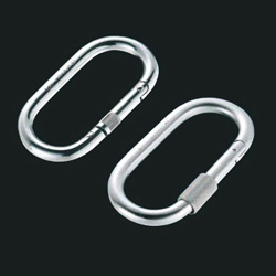 Carabiner O Type (No Ring, with Ring)