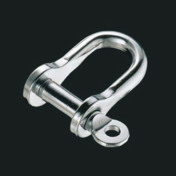 C-shaped screw shackle