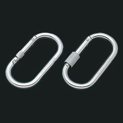 Carabiner 123 Type (with and Without Ring)