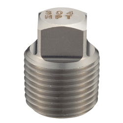 NPT Fitting 4P Square Plug