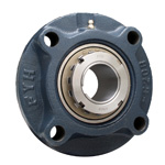 Cast Iron Round Flange Type Unit with Spigot, Adapter Type - UKFC (Adapter Sold Separately)