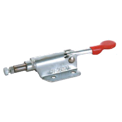 Toggle Clamp - Push-Pull - Flanged Base, Stroke 10 mm, Straight Handle, GH-36070