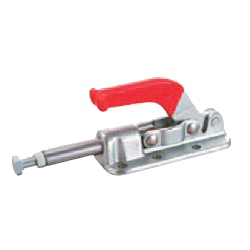 Toggle Clamp - Push-Pull - Flanged Base, Stroke 50.8 mm, Straight Handle, GH-36330M
