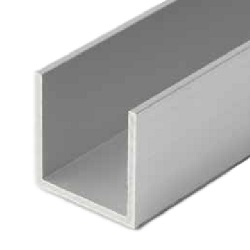 Aluminum Channel (Silver)