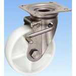 Stainless Steel Caster Swivel (With Double Stopper) JAB Type Size 150 mm
