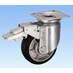 Casters for Heavy Loads - Swivel (with Rotation Stopper) JMB Type, Size 100 mm to 130 mm