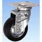 Medium Load Caster Swivel (Double Stopper) JB Type Size 100 mm