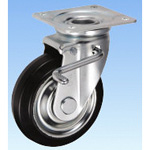 Medium Load Caster Swivel (Double Stopper) JB type Size 150 mm