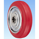 SR Type Steel Plate Polybutadiene Red Rubber Wheel