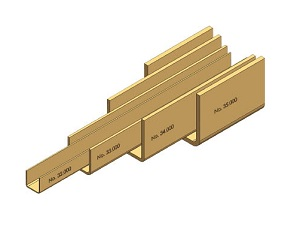 "Door Hanger ""Niko"" Guide Rails"