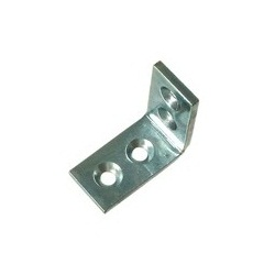 Bright Chromate Extra Thick Metal Bracket (for Placing Shelving)