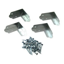 Bright Chromate Two-Sided Bracket