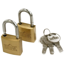Dimpled Padlock, Same Key Number