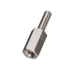 Stainless Steel Spacer (Hexagonal) Male Screw Long / LSU