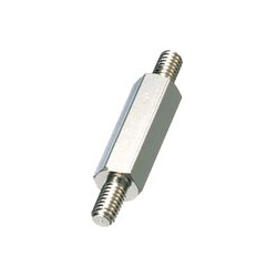 Brass Spacer (Hexagonal) Both Ends Male Threaded / ESB-E