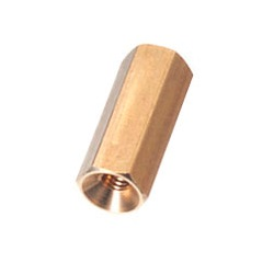 Brass Spacer (Hexagonal, For Flat Head Screw Fastening) KSB-AE/KSB-ANE