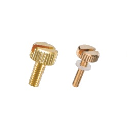 Brass Knurled Knob (Slotted) NB-AG/AG-N