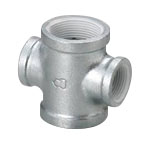 Pipe Fitting With Sealant, WS Fitting, Reducing Cross