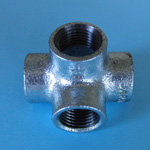 Four-Way Pipe Fitting T (Flat Type)