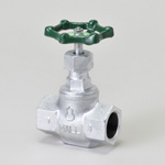 Malleable Valve, General-Purpose, 10K Type, Globe Valve, Screw-In, Equipped with PTFE Disc, for LPG