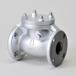 Malleable Valve, 10K Type, Check Valve (Swing Type) Flanged