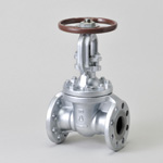 Malleable Valve, 20K Type, Gate Valve, Flange Shape, External Screw B・B Type, High Temperature Specifications