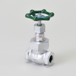Malleable Valve, 20K Type, Globe Valve, Screw-In, PTFE Disk Equipped