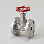 H Series, 10K, Flanged, Globe Valve with Disc, JIS-Compliant End-to-End Dimension (JIS B 2011)