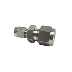 Double Ferrule Type Tube Fitting, Reducing Union, DUR