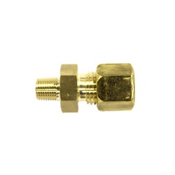 Fitting and Valve for Copper Tubes, B Type, Biting Fitting for Copper Tubes, Connector (Male)