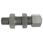 Biting Fitting for CE-Type Steel Pipe Hose Connector Bulkhead Union (Female Sheet) KUF