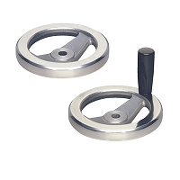 Aluminum Two-spoked Handle Wheel (AL2SP)